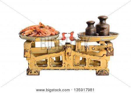 Shrimps On Old Scales