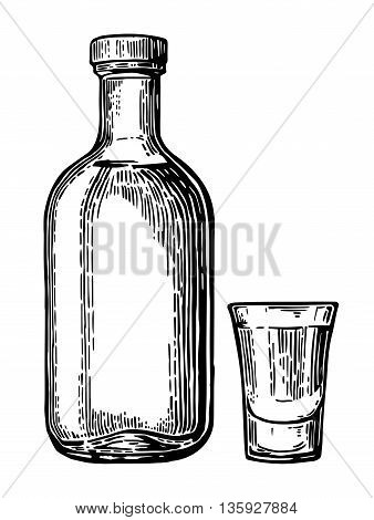 Vintage Vector Engraving Illustration For Label Poster Web Invitation To