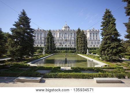 Sabatini Gardens, Royal Palace, Madrid