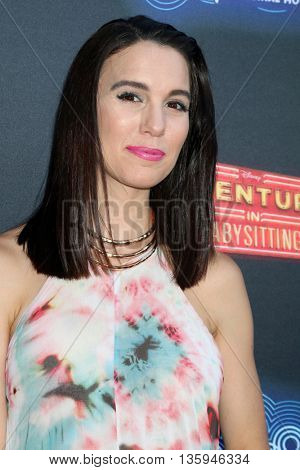 LOS ANGELES - JUN 23:  Christy Carlson Romano at the 100th DCOM Adventures In Babysitting LA Premiere Screening at the Directors Guild of America on June 23, 2016 in Los Angeles, CA