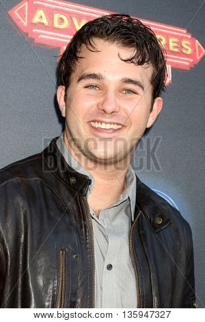 LOS ANGELES - JUN 23:  Hutch Dano at the 100th DCOM Adventures In Babysitting LA Premiere Screening at the Directors Guild of America on June 23, 2016 in Los Angeles, CA