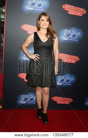 LOS ANGELES - JUN 23:  Kimberly J Brown at the 100th DCOM Adventures In Babysitting LA Premiere Screening at the Directors Guild of America on June 23, 2016 in Los Angeles, CA