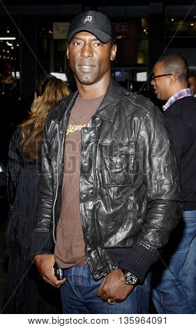 Isaiah Washington at the Los Angeles premiere of 'Max Payne' held at the Grauman's Chinese Theater in Los Angeles, USA on October 13, 2008.