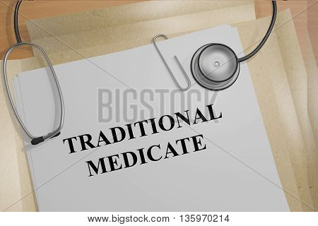 Traditional Medicate Medical Concept