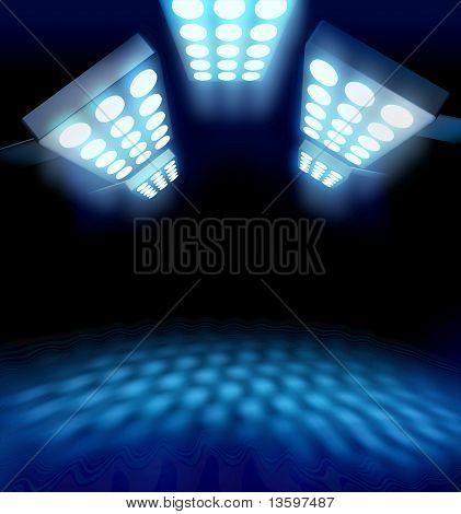 Stadium Style Premiere Lights