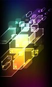 Abstract Digital Art poster