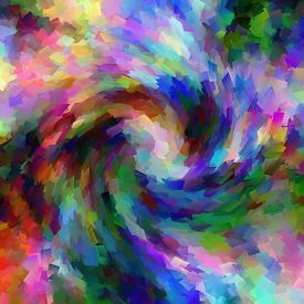 Abstract red coloring background of the pastels gradient with visual wave,cubism and twirl effects,good for your design