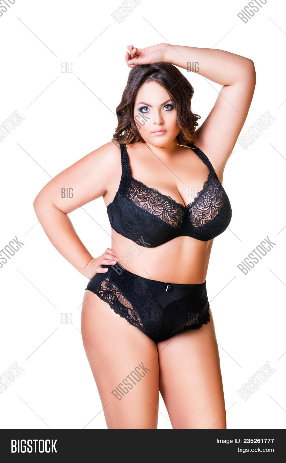 Chubby female underware models