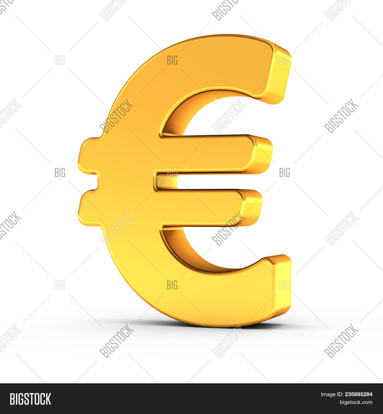 3d Illustration Euro Image Photo Free Trial Bigstock