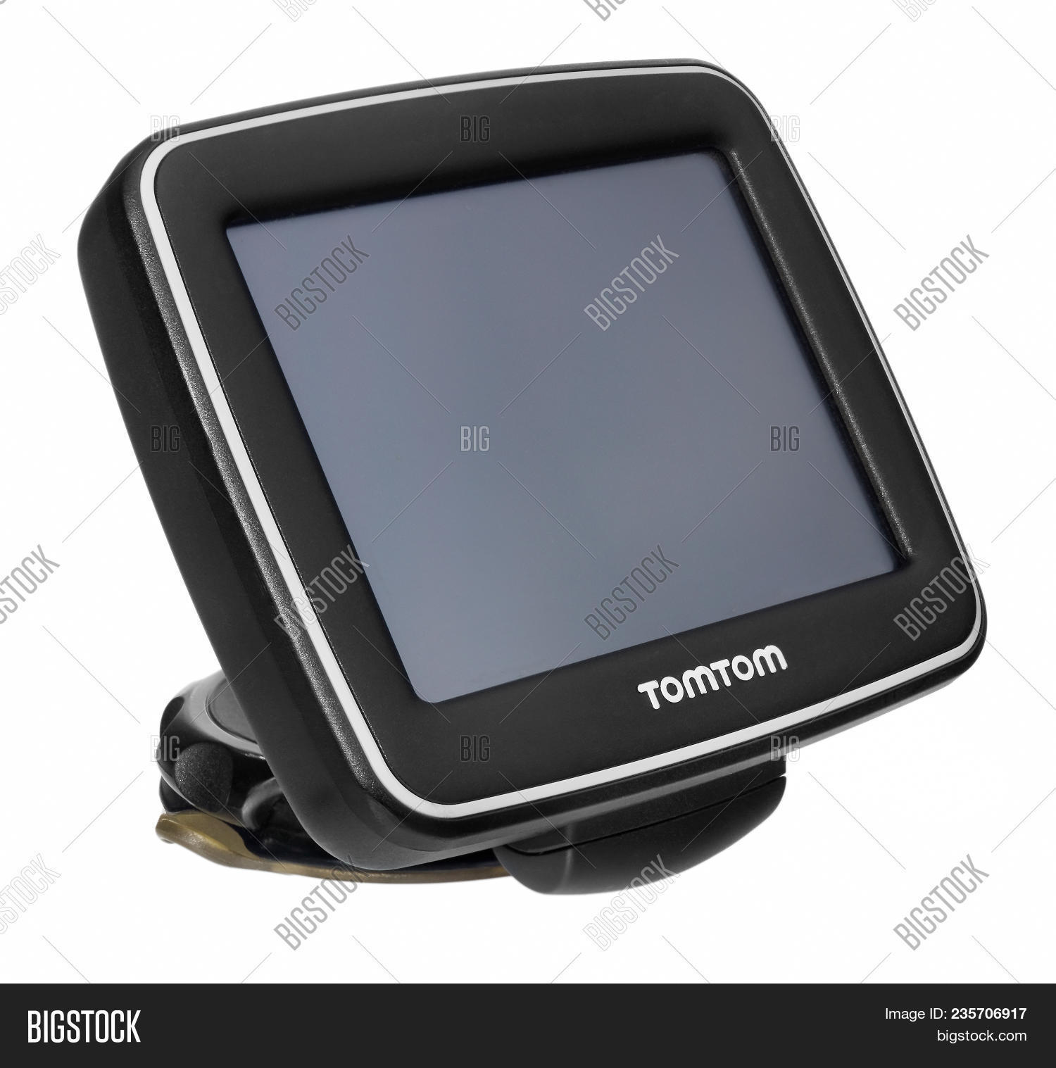 Tomtom Gps Car Image & Photo (Free Trial)   Bigstock