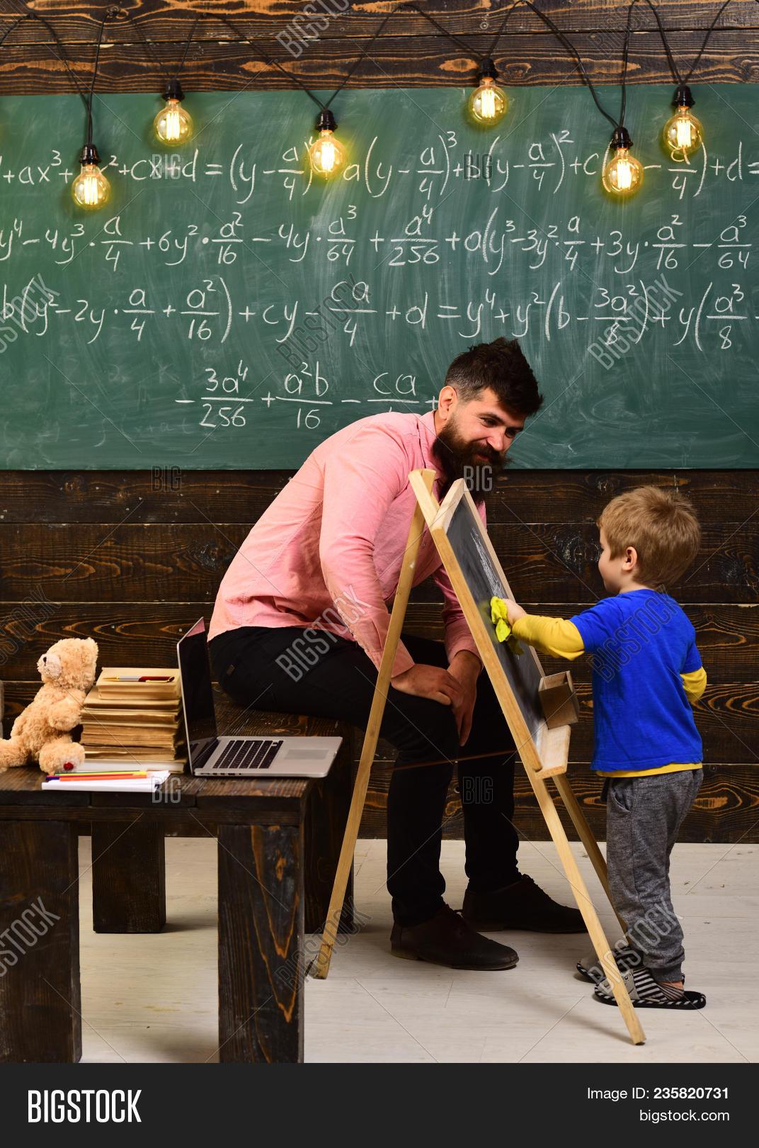 Tutor Explaining Math Image & Photo (Free Trial)   Bigstock