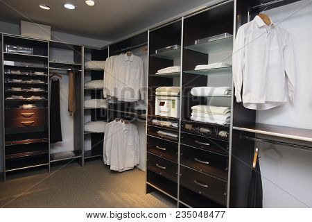 View Of Modern Closet For New House