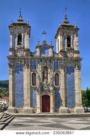 Baroque Church Of Ribeira De Pena In Portugal