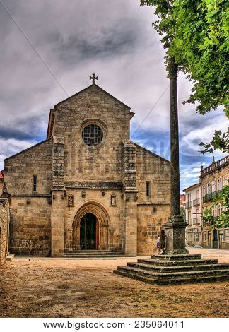 Gothic Cathedral Of Vila Real, North Of Portugal