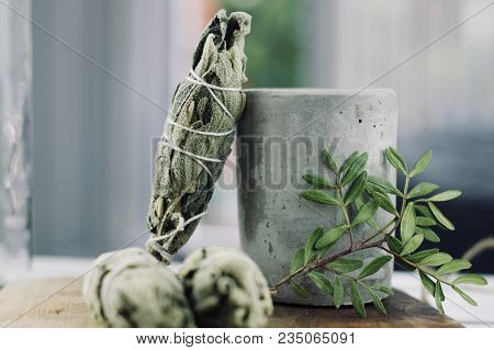 Incense Of White Salvia