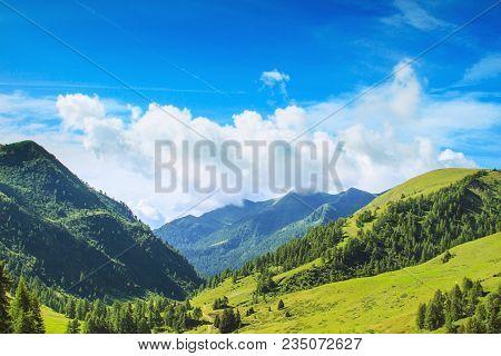 Pass Of The Cow From Tito Secchi Refuge In Valsabbia, Brescia, Italy.