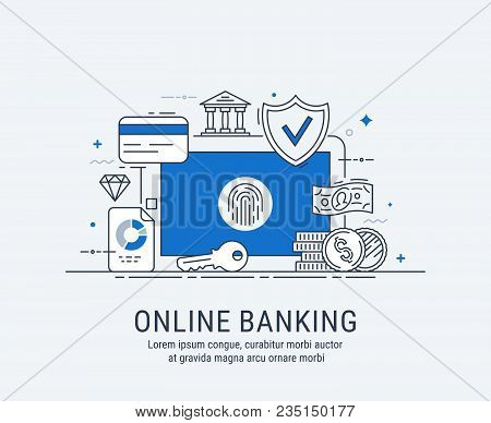 Online Banking, Security Payments, Transactions, Investments And Deposits, Advanced Information Tech