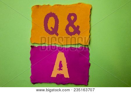 Handwriting Text Q A. Concept Meaning Ask Frequently Faq Asked Question Help Solving Doubt Query Sup
