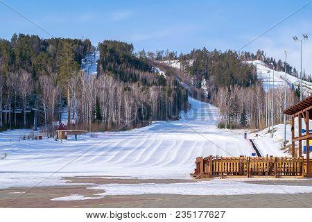 Ski Trail, Resort, Track, Mountain Skiing Complex