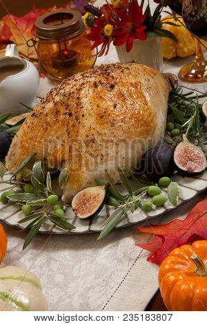 Mediterranean Style Whole Roasted Turkey Breast