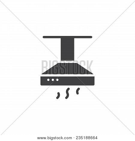 Kitchen Hood Vector Icon. Filled Flat Sign For Mobile Concept And Web Design. Exhaust, Extractor Hoo