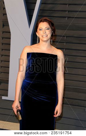 LOS ANGELES - MAR 4:  Rachel Bloom at the 24th Vanity Fair Oscar After-Party at the Wallis Annenberg Center for the Performing Arts on March 4, 2018 in Beverly Hills, CA