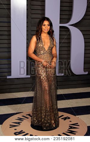 LOS ANGELES - MAR 4:  Regina Hall at the 24th Vanity Fair Oscar After-Party at the Wallis Annenberg Center for the Performing Arts on March 4, 2018 in Beverly Hills, CA
