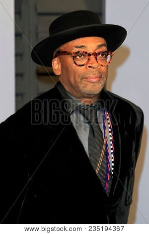 LOS ANGELES - MAR 4:  Spike Lee at the 24th Vanity Fair Oscar After-Party at the Wallis Annenberg Center for the Performing Arts on March 4, 2018 in Beverly Hills, CA