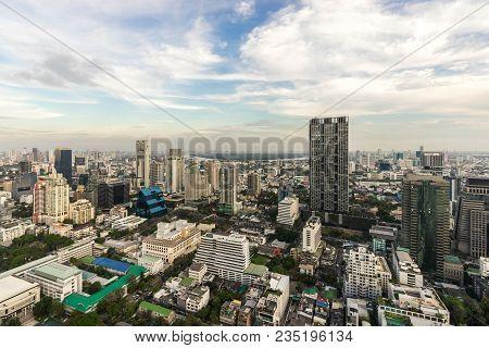 Metropolitan Bangkok City Downtown Cityscape Urban Skyline  Thailand In 2017 - Cityscape Bangkok Cit