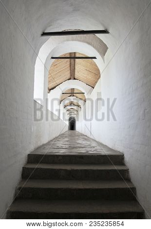 Passage In The Kremlin Of Rostov The Great, Russia