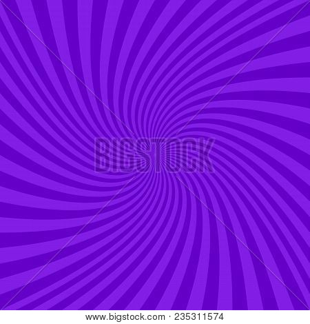 Purple Abstract Spiral Design Background - Vector Graphics