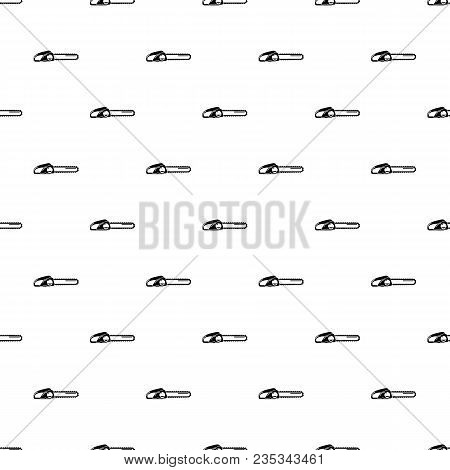 Chainsaw Pattern Vector Seamless Repeating For Any Web Design