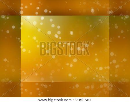Festive Golden Background