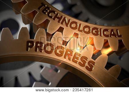 Technological Progress On Mechanism Of Golden Cog Gears. Technological Progress On The Golden Gears.