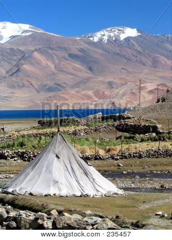 Camp Tent At The Himalayas