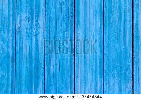 Background Of The Boards Are Painted In Blue Color