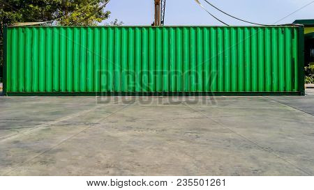 Industrial Crane Loading Containers In A Cargo Freight Ship,container Cargo Freight Ship By Crane Br