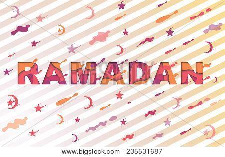 Ramadan Kareem Greeting Card Vector Photo Bigstock