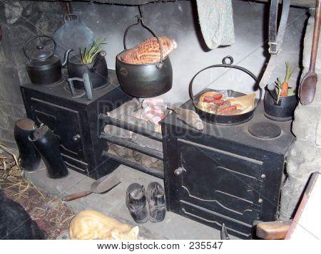 Victorian Kitchen 3