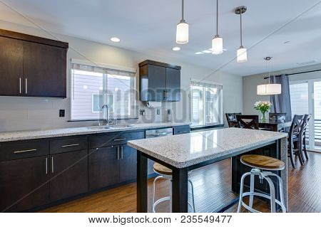 Spacious Kitchen With Open Floor Plan