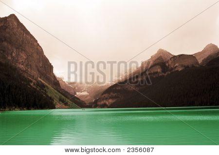 Beautiful Lake Louise Canadian Rockies