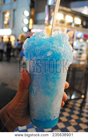 Blue Ice Slush Ice Slush Is A Popular Refreshing Street Favorite And Comes Up In Several Flavors And