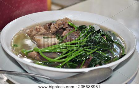 Nilagang Baka- Filipino Beef Soup Nilagang Baka Is A Beef Soup Made By Cooking Beef Shanks And Tendo