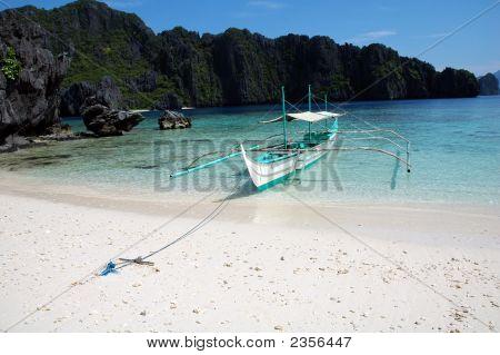 A Banca Boat El Nido Philippines