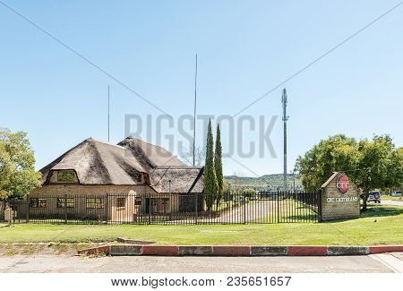 Ladybrand, South Africa - March 12, 2018: The Christian Revival Church (crc) In Ladybrand, A Town In