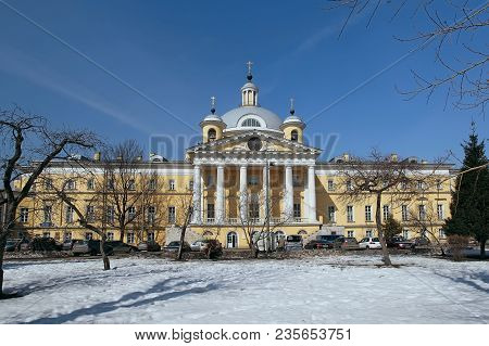 Hospital Church Of Tsarevich Demetrius At The Golitsyn Hospital. City Clinical Hospital 1 Named Afte