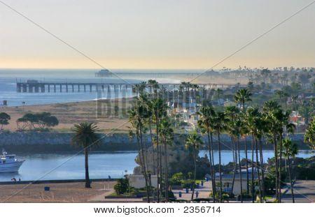 Corona Del Mar Looking North To Newport Beach.