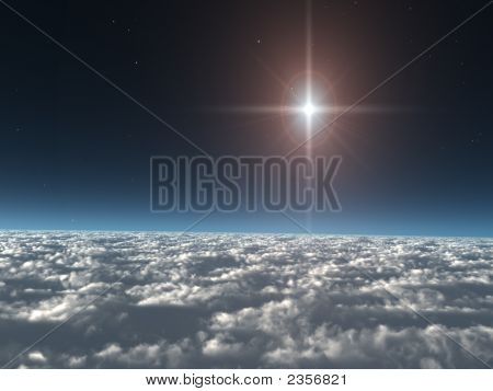 Star Above The Clouds