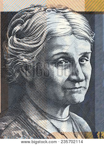 Edith Cowan Portrait From Australian Money - Dollar