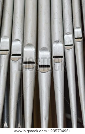The Parts Of S Organ In A Church.
